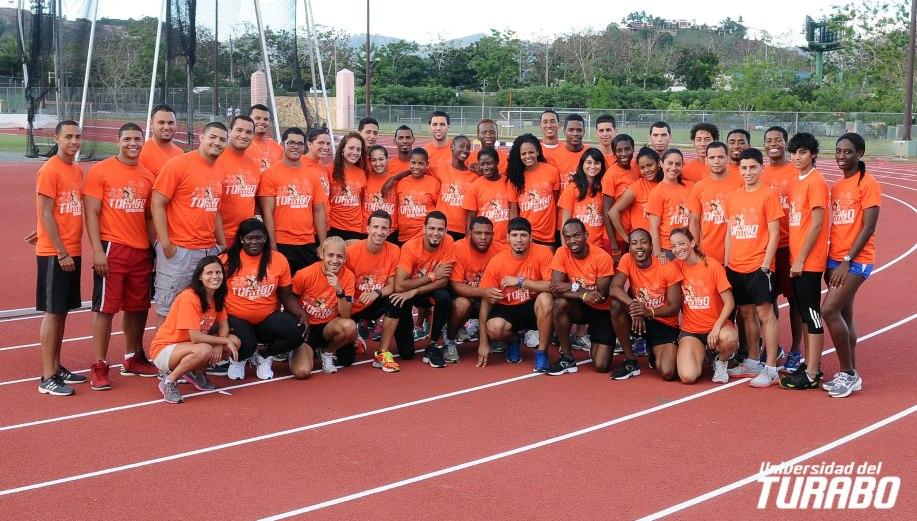 equipo atletismo: